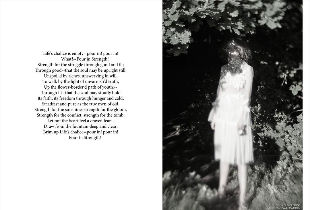 New editorial out photography hangartistjournal using fabcameras styling stylishem fabandmaghellip