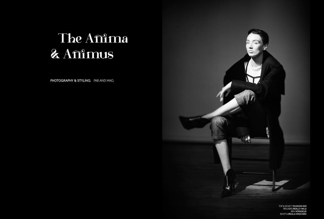New editorial out now! The Anima and Animus starring lyssawalshhellip