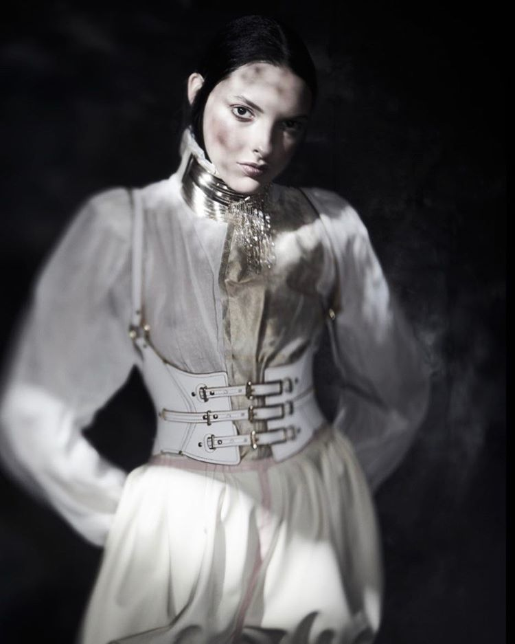 An image from The new editorial Harlequinade starring claricevitkauskas photohellip
