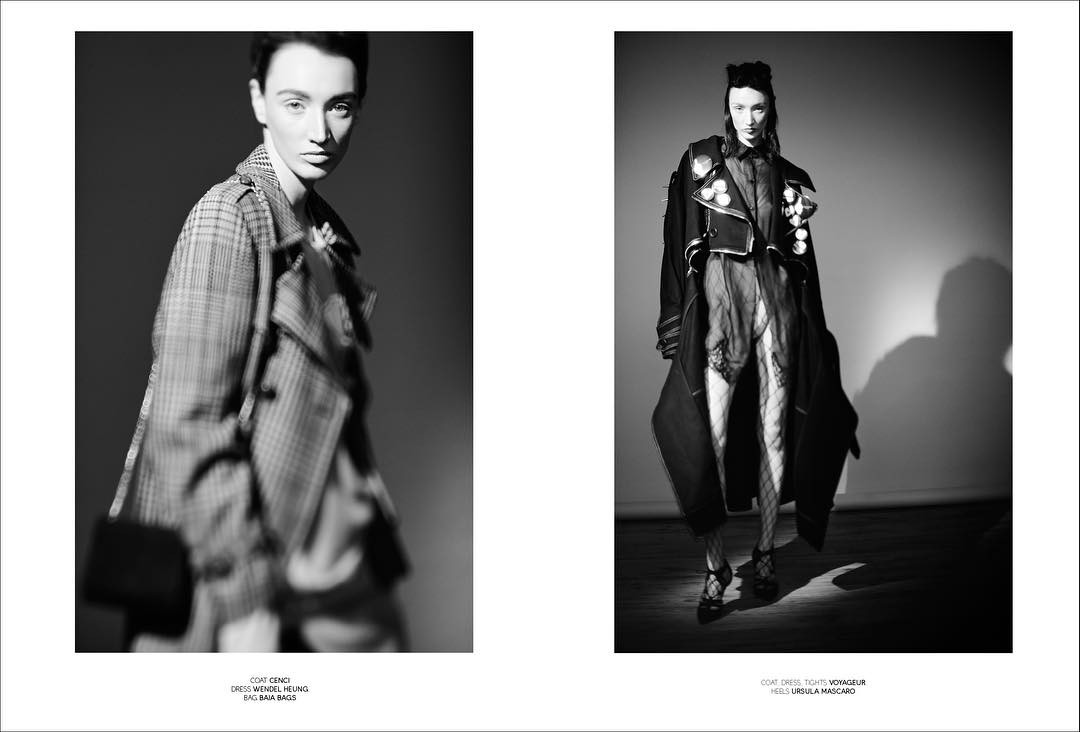 Another spread from the new editorial  The Anima amphellip